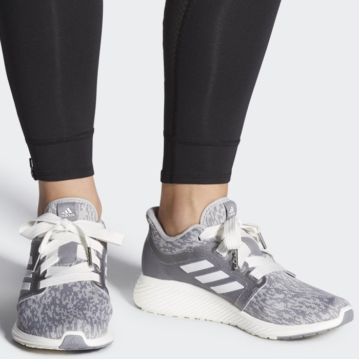Grey Adidas Women's Edge Lux 3 Running Shoes