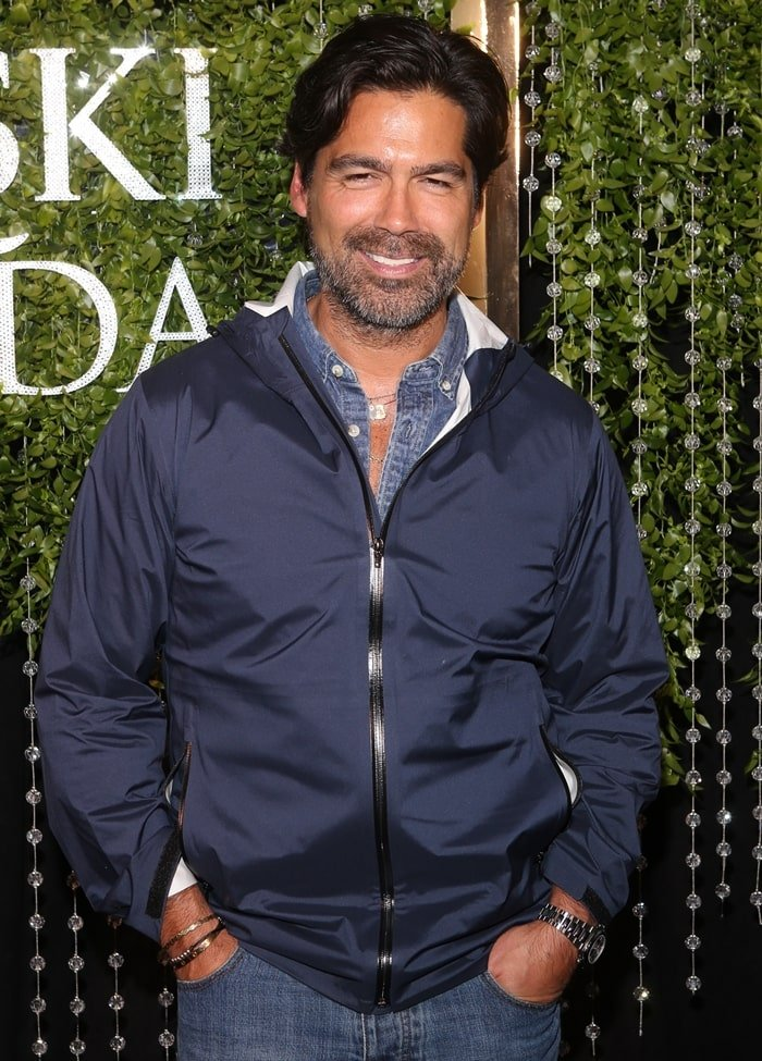 Brian Atwood attends the 2018 CFDA/Swarovski Award Emerging Talent Cocktail Party