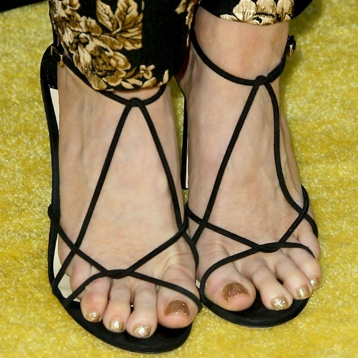 Brittany Snow's feet are shoe size 8 (US)