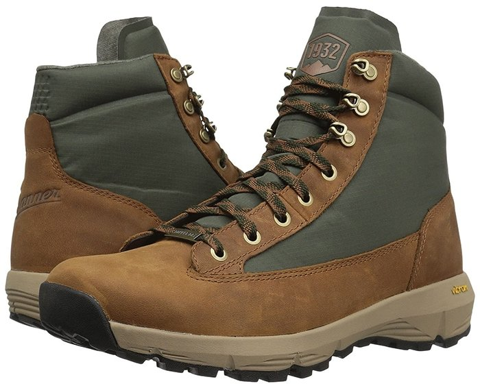 Danner Explorer 650 6-inch in Brown and Green