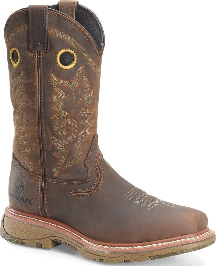 Double-H Boots Elijah Workflex MAX Wide Square Toe Comp Toe Work Boot