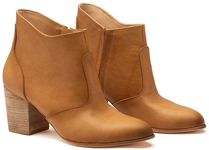 Esquivel Chestnut Jill Ankle Boots