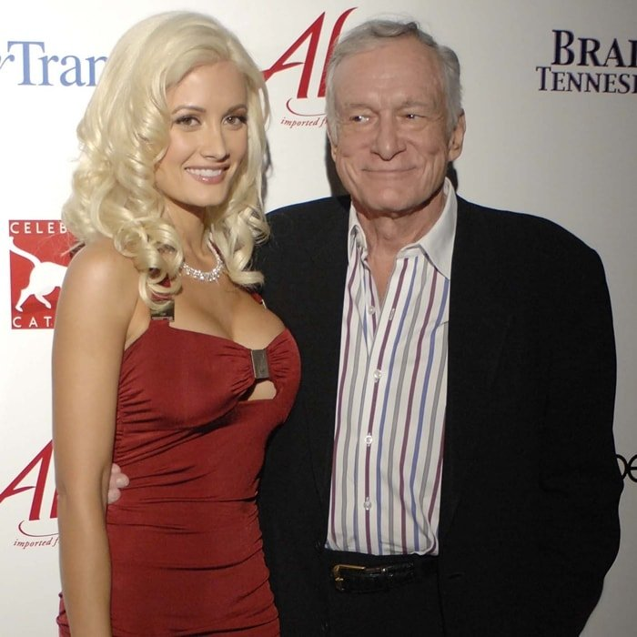 Holly Madison was Hugh Hefner's favorite girlfriend from 2002-2008