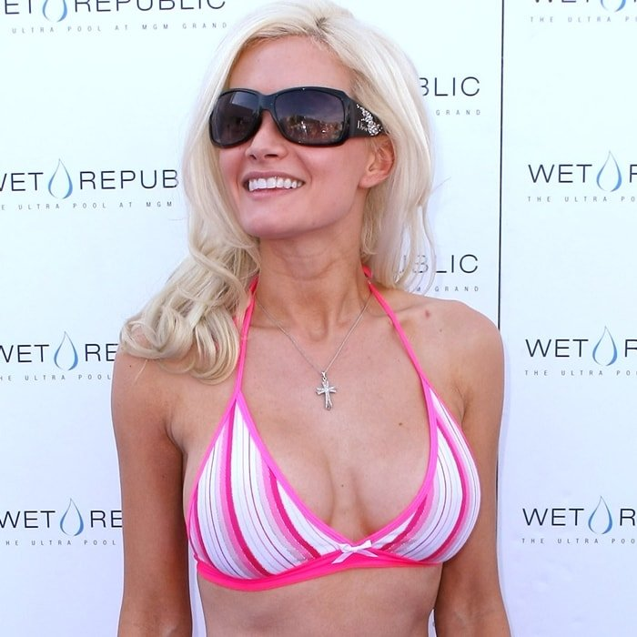 Holly Madison is an American model, showgirl, television personality and author