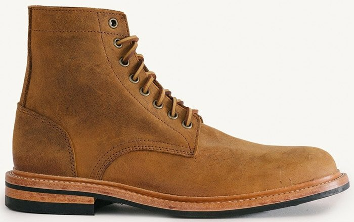 Oak Street Bootmakers Trench Boot in Autumn Spiced Waxed Kudu