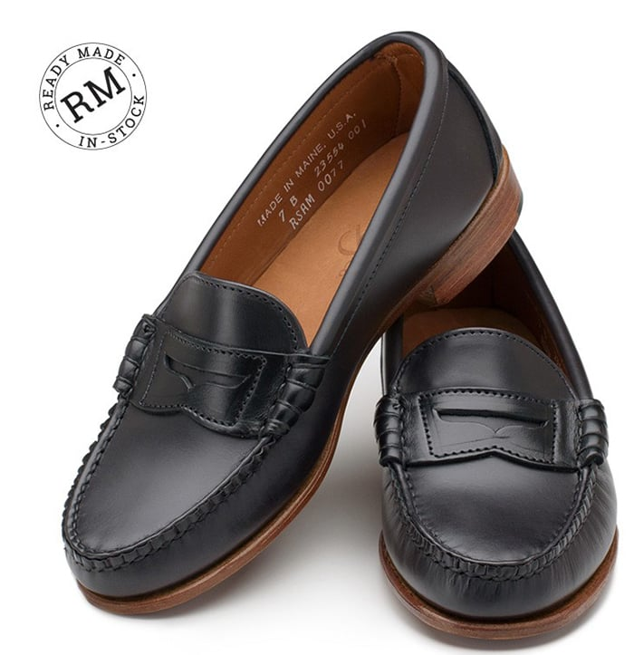 Rancourt and Co. Beefroll Penny loafers