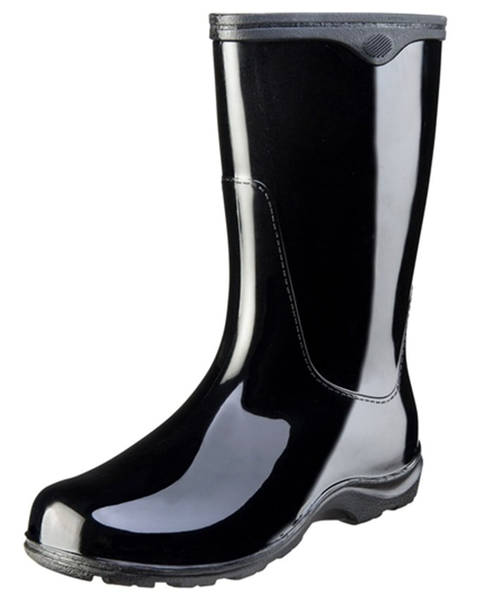 Sloggers Rain and Garden Boots in Classic Black