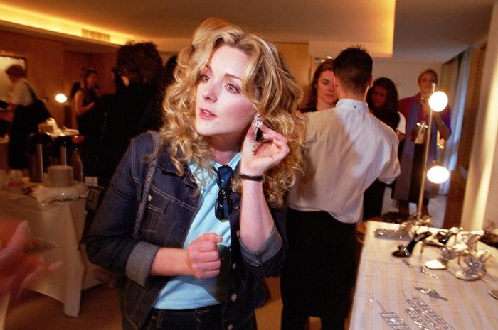 Jane Krakowski attends a party co-hosted by shoemaker Jimmy Choo and crystal manufacturer Daniel Swarovski