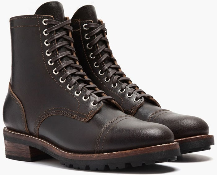 Thursday Boot Co. Logger Boots in Waxed Cacao