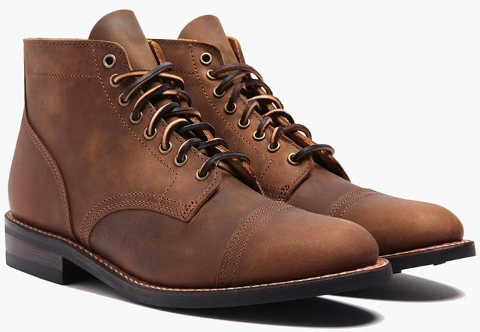Thursday Boot Company Vanguard Boots in Burnt Copper