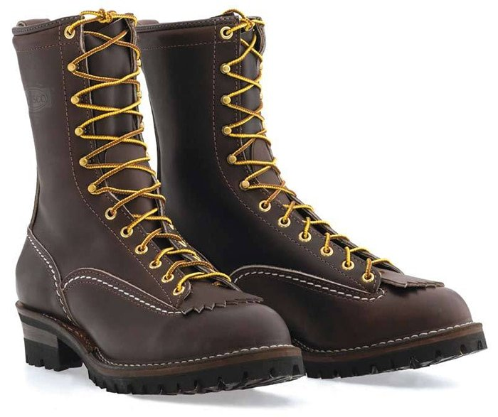 Wesco Standard Wesco Jobmaster Lace to Toe Brown Leather Boots
