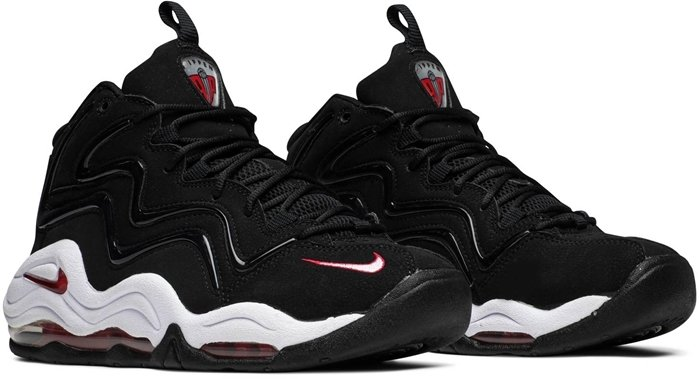 Scottie Pippen's first official signature shoe, the Air Pippen, in the OG black and Varsity Red colorway, retails for $378,073