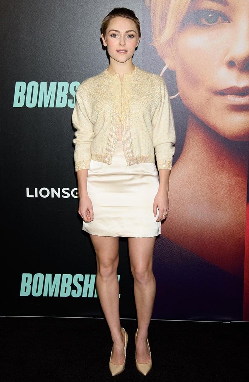AnnaSophia Robb at Bombshell NY screening Jazz on December 16, 2019