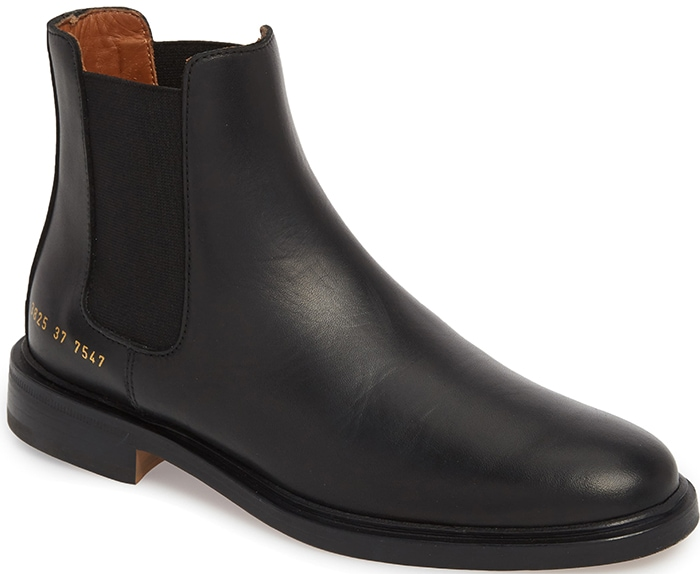 This black Italian-crafted Chelsea boot is a sleek, timeless style that's as low-key as it is luxe