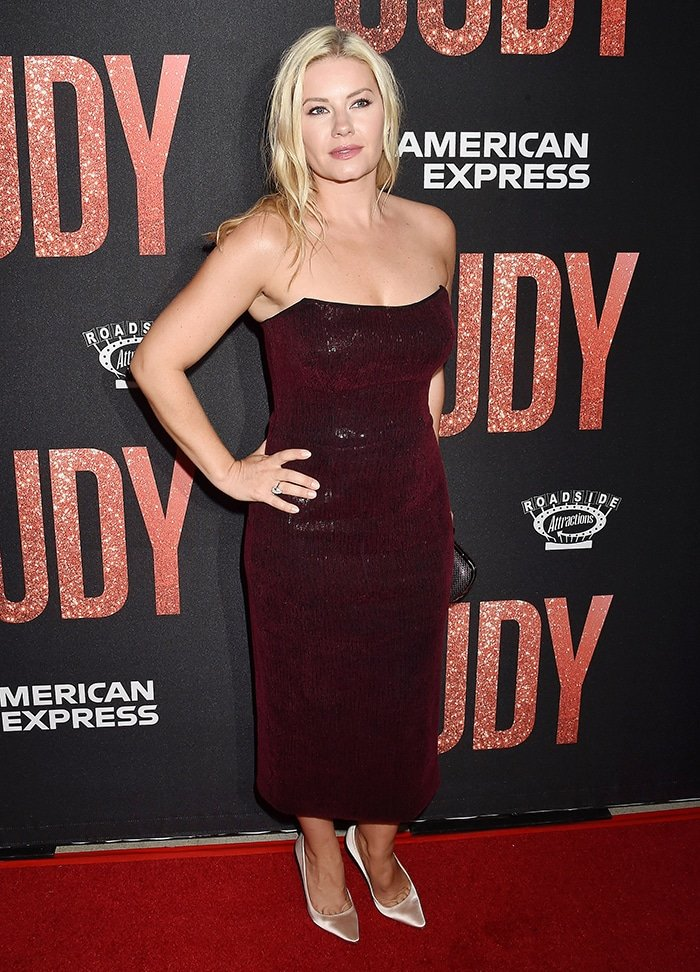 Elisha Cuthbert at the LA premiere of Roadside Attraction's Judy on September 19, 2019