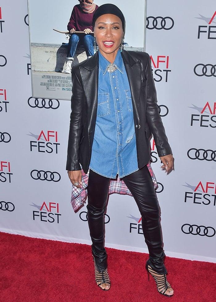 Jada Pinkett Smith at the AFI FEST 2019 screening of Hala on November 18, 2019