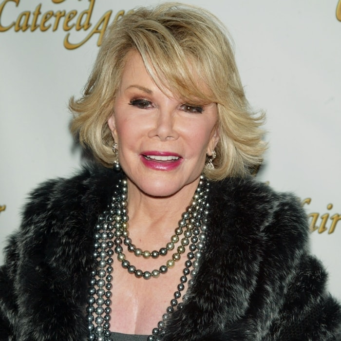 Joan Rivers had lots of plastic surgery, including a facelift, neck lift, and eyelid surgery