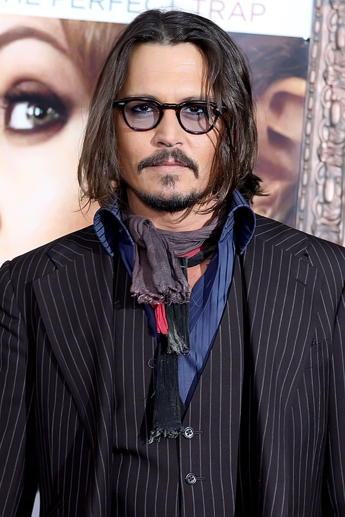 Johnny Depp, pictured in 2010, admits to drug and alcohol problems but denies violence towards Amber Heard