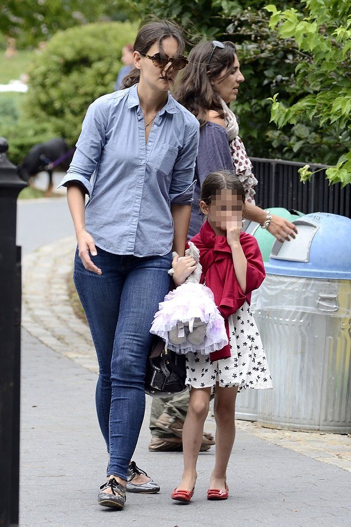 Katie Holmes has been raising her daughter Suri Cruise as a single mom since 2012