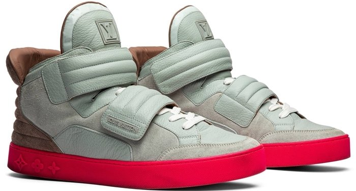 Released in three colorways, the high-top Jasper sneaker from the Kanye West x Louis Vuitton line is one of the most valuable sneakers on the global resale market
