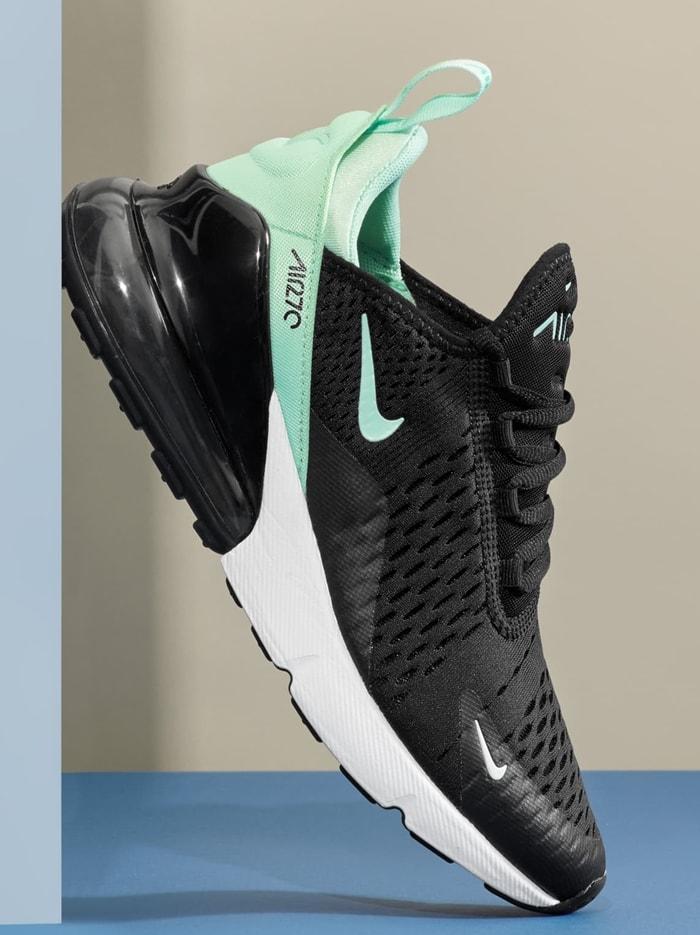 Black Nike Air Max 270 Premium Sneaker
