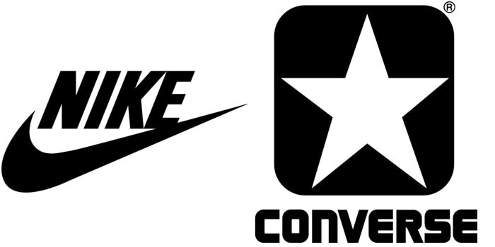Nike owns Converse after acquiring the company in 2003 for $305 million