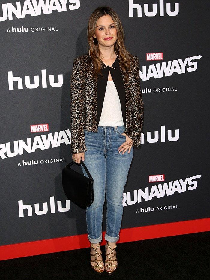 Rachel Bilson at the Runaways film premiere in Westwood on November 17, 2017