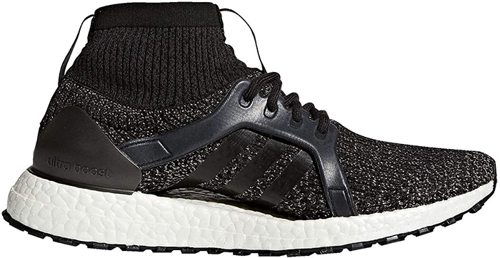 Weatherproof running adidas UltraBOOST X All Terrain shoes with energized cushioning