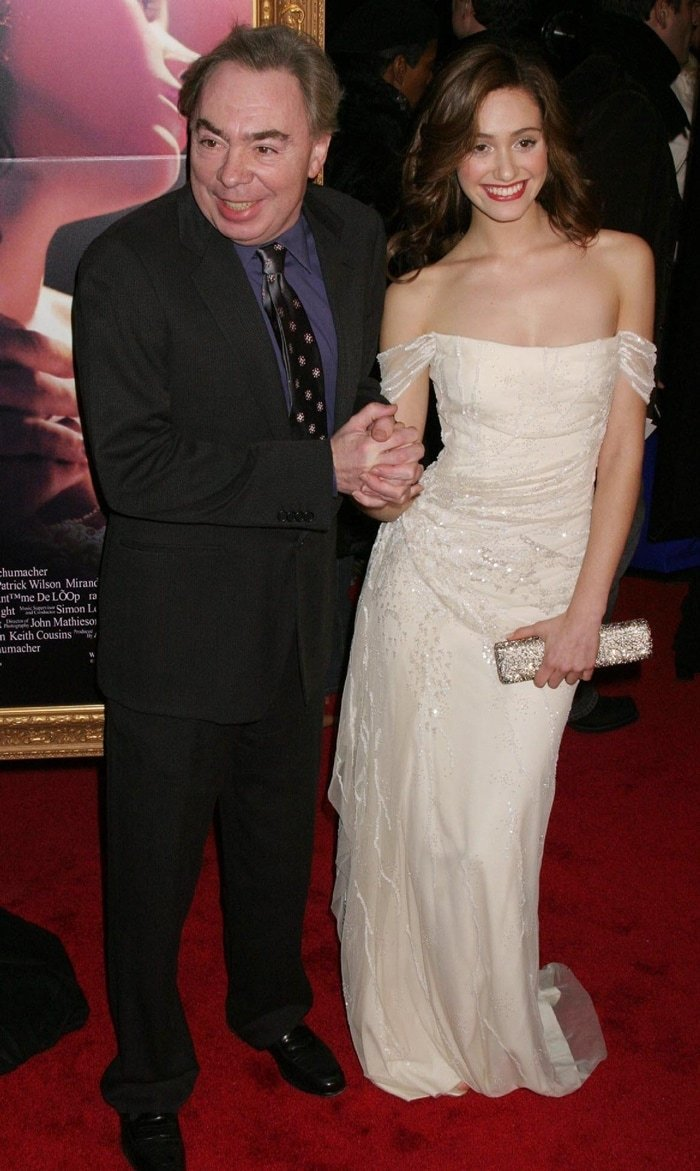 Andrew Lloyd Webber and Emmy Rossum