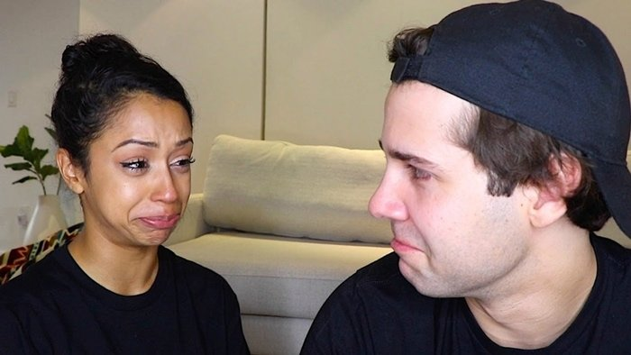 David Dobrik's most viewed YouTube video is his emotional breakup video with Liza Koshy