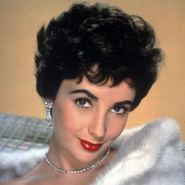 Elizabeth Taylor's eyes were rimmed by dark double eyelashes, caused by a genetic mutation