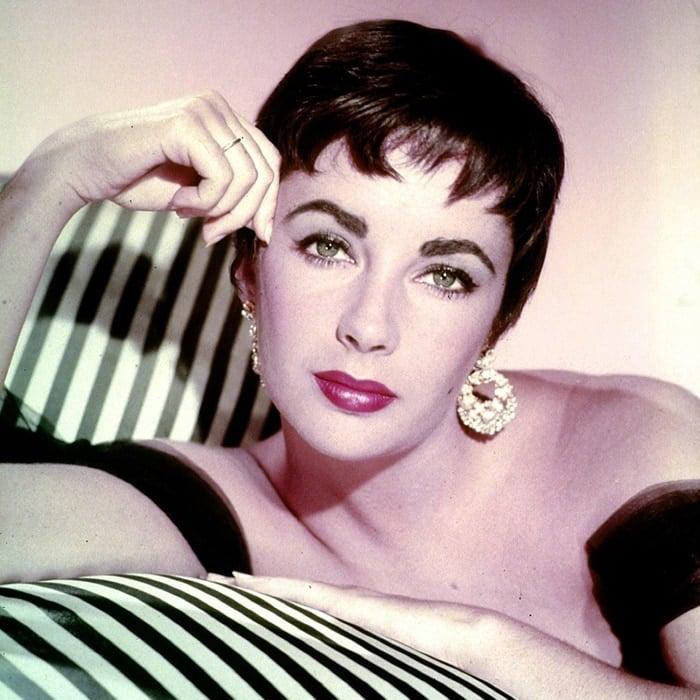 Legendary actress Elizabeth Taylor's eyes are famously beautiful
