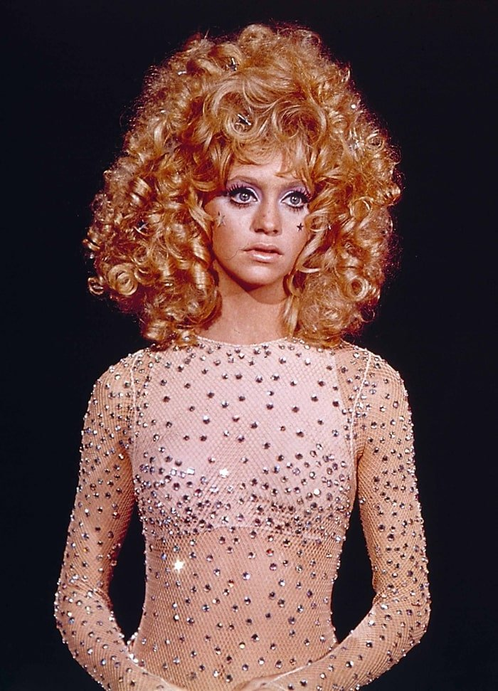 """Goldie Hawn became known as a sex symbol and """"it"""" girl of the 1960s"""