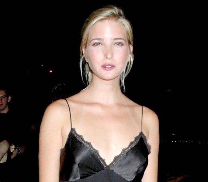 Ivanka Trump during Hugo Boss Spring Summer 2005 Collection Launch at 601 West 26th Street in New York City on July 20, 2004