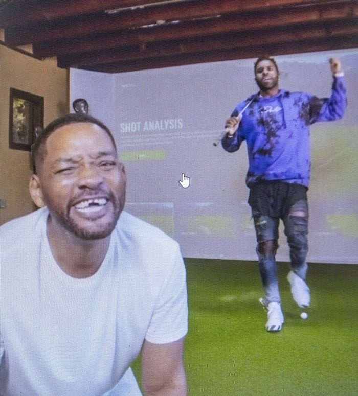 Will Smith and Jason Derulo pranked the whole internet on TikTok in August 2020 when Jason knocked Will Smith's front teeth out with golf club