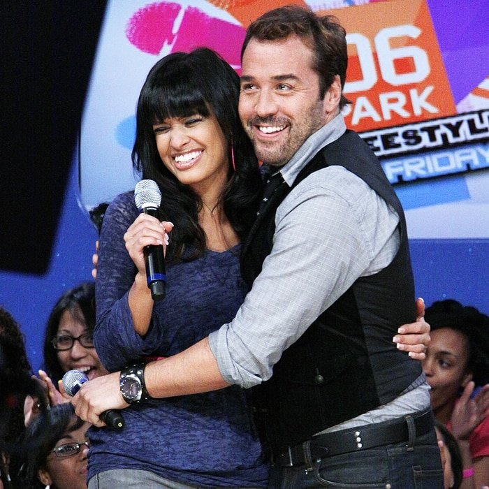 Jeremy Piven and Rocsi Diaz on BET's