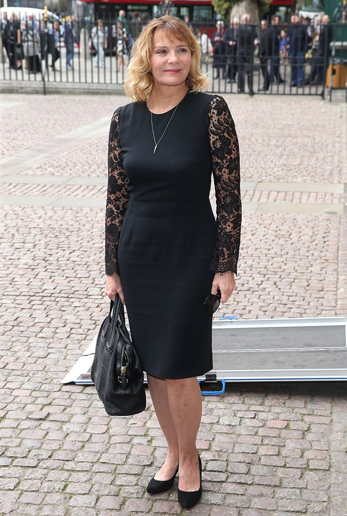 Kim Cattrall, pictured in 2018, does not regret slamming Sarah Jessica Parker online