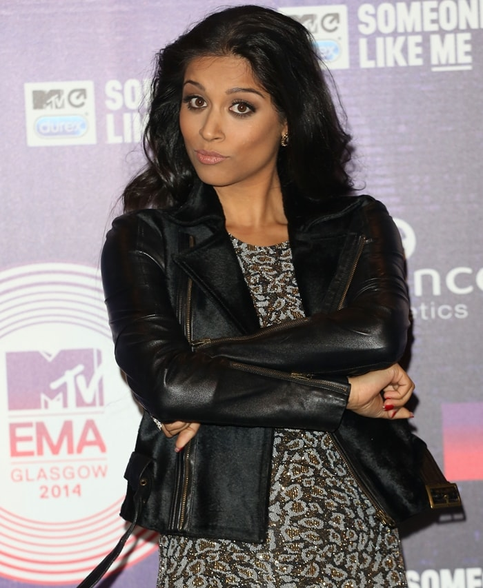 Lilly Singh attends the MTV EMA's 2014