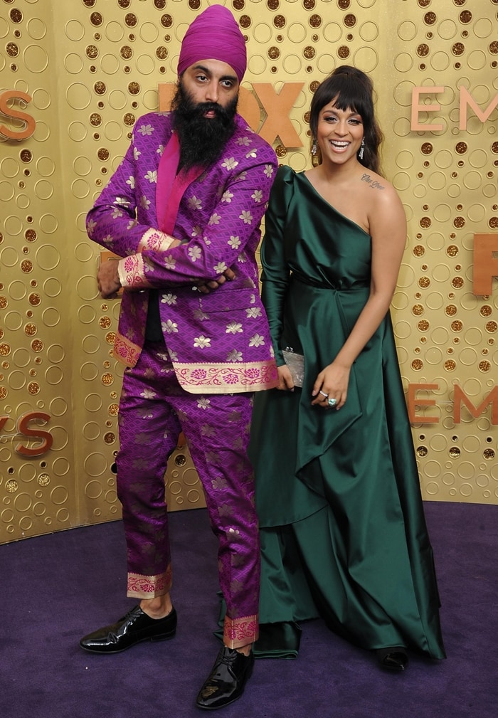 Lilly Singh and Kanwer Singh (aka Humble The Poet) are not related