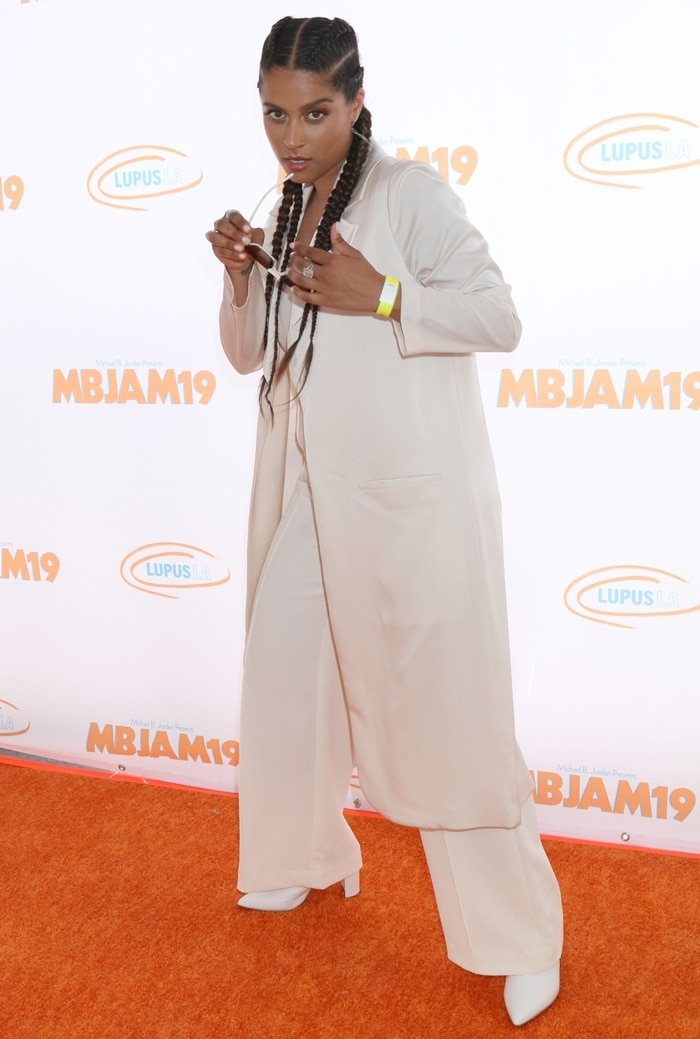 Lilly Singh attends the 3rd annual MBJAM19 presented by Michael B. Jordan and Lupus LA