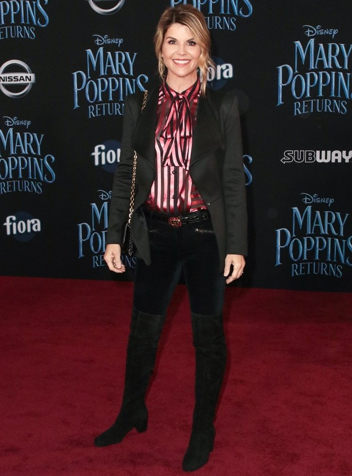 Lori Loughlin attends Disney's 'Mary Poppins Returns' World Premiere