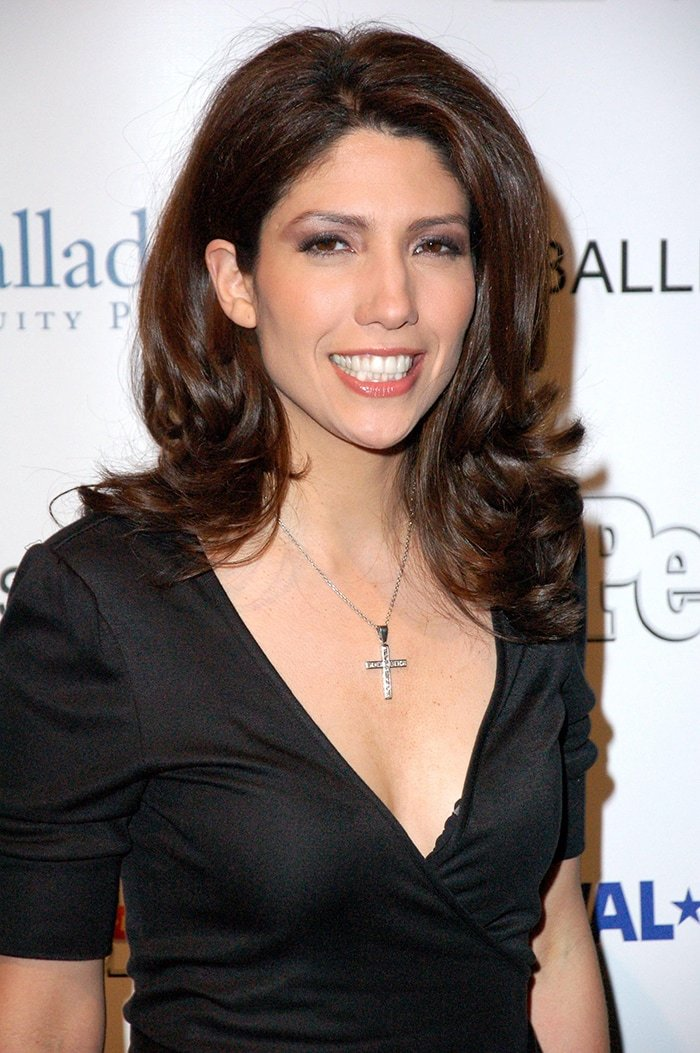 Lynda Lopez, pictured in 2007 at the Ballet Hispanico Annual Gala, currently works as a midday anchor for WCBS 880