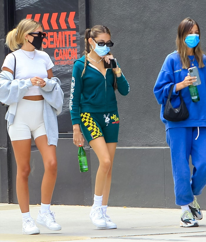 Madison Beer goes out for lunch with her friends in West Hollywood on August 13, 2020