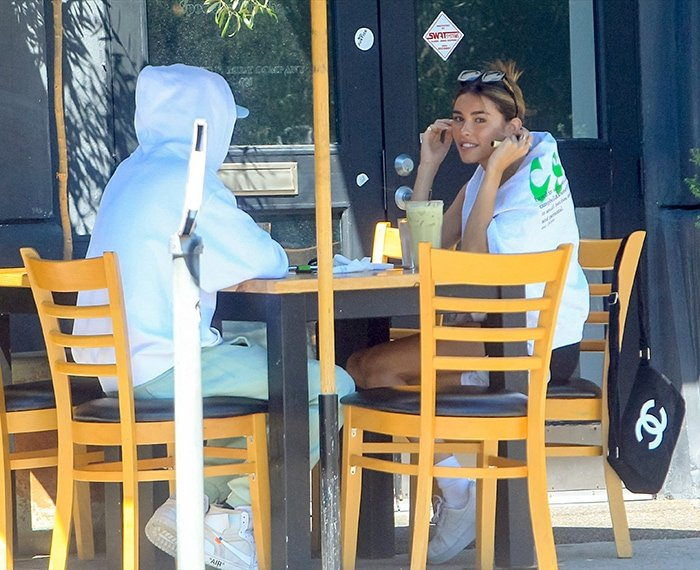 Madison Beer grabs lunch with rumored boyfriend TikTok star Nick Austin at Toast Bakery Café in West Hollywood on August 31, 2020