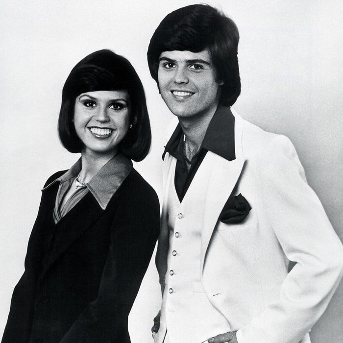 Donny & Marie is an American variety show starring brother-and-sister pop duo Donny and Marie Osmond that aired on ABC from November 1975 to May 1979