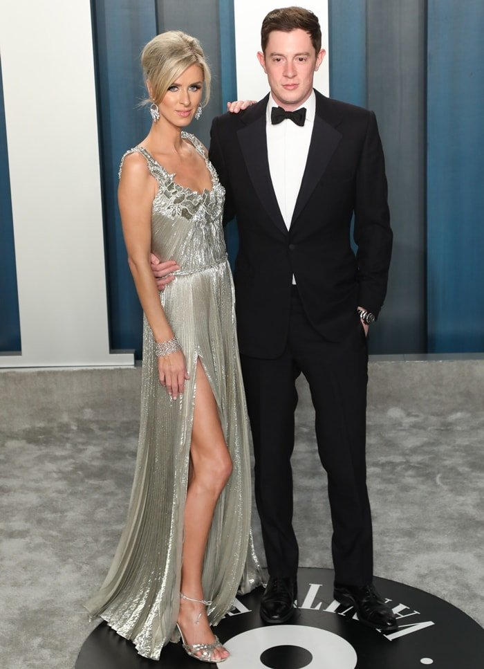 Nicky Hilton Rothschild and James Rothschild attend the 2020 Vanity Fair Oscar Party