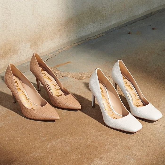 Designed with the same great fit and comfort, these pumps are built for all-day wear
