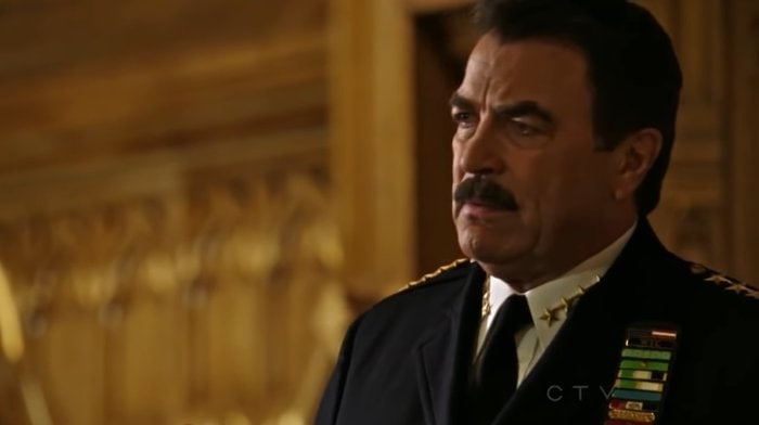 Blue Bloods stars Tom Selleck as New York City Police Commissioner Frank Reagan