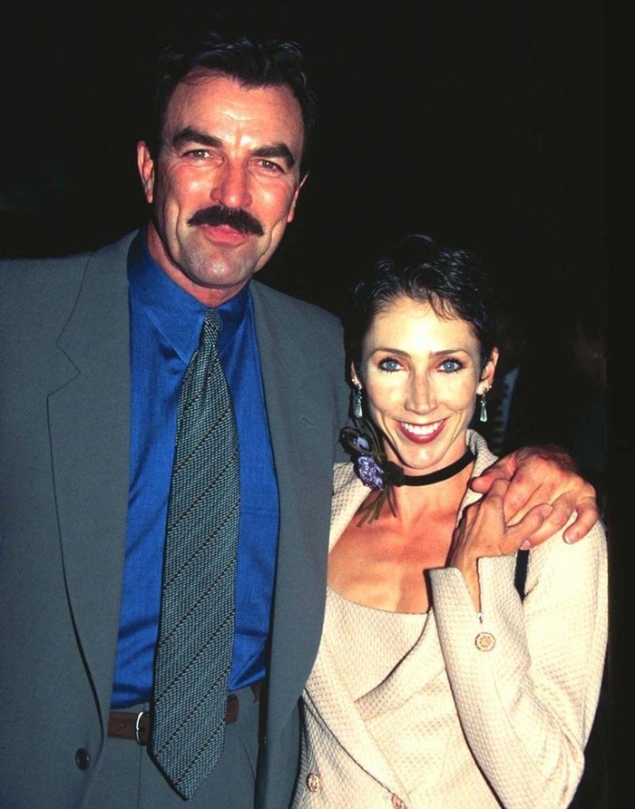 Pictured in 1997, Tom Selleck married Jillie Joan Mack on August 7, 1987