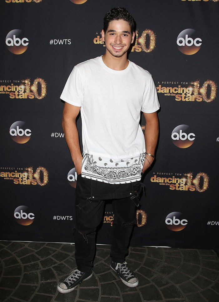 Alan Bersten at the Dancing With the Stars 20th Season premiere party on March 16, 2015